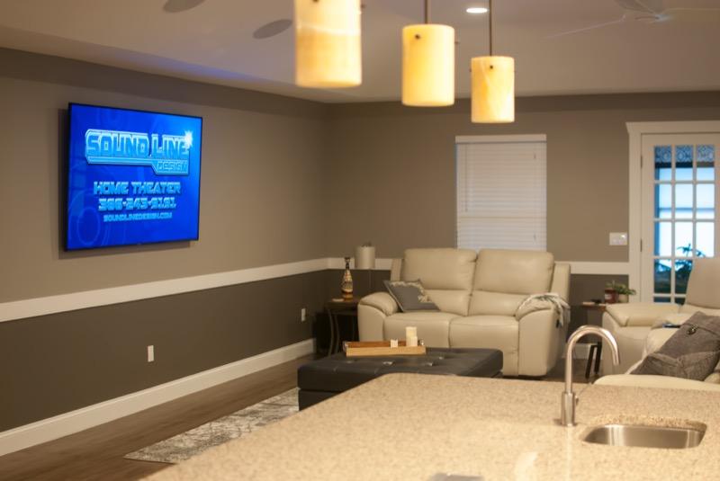 Sound Line Design Home Theater And Surveillance Demo House